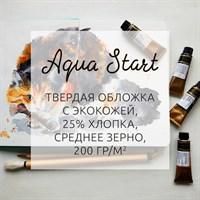 AquaStart, скечбуки для акварели, бумага (25% хлопка/твердая обложка) / sketchbooks for watercolor (25% cotton/hard cover)