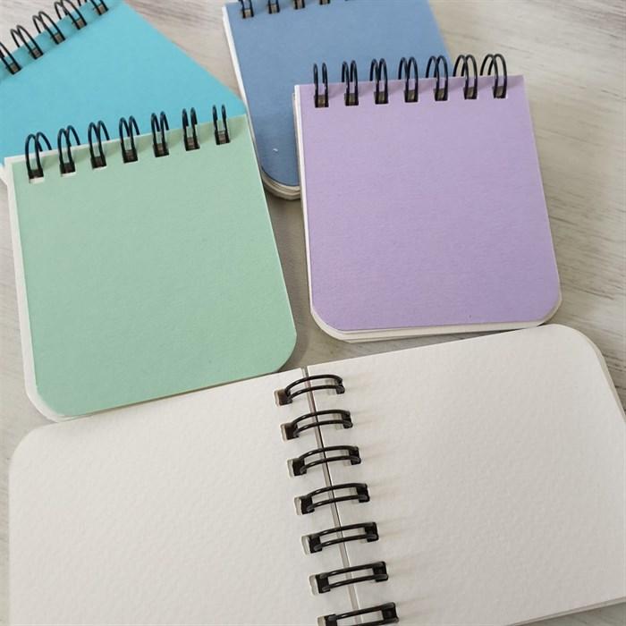 Aqua PAD 5х5,блокнот для акварели,25% хлопка / Aqua PAD 5х5, sketchbook for watercolor, 25% cotton - фото 4520