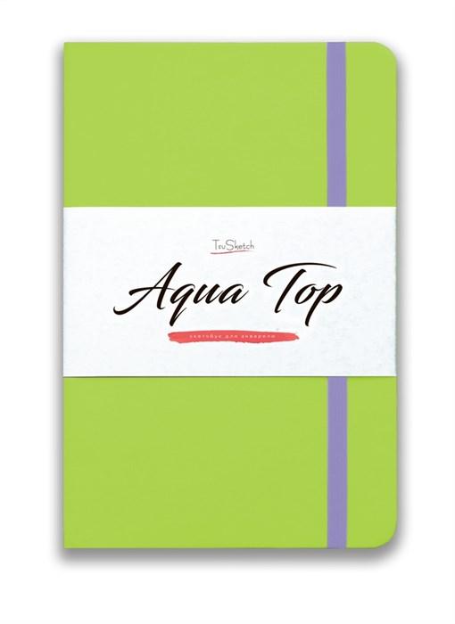 AquaTop A5, скетчбук для акварели, 100% хлопок/ AquaTop A5, sketchbook for watercolor,  100% cotton - фото 4742
