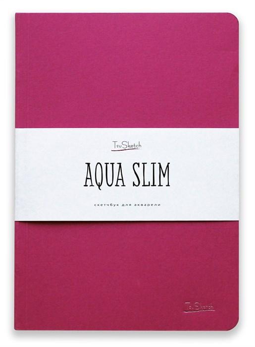 AquaSlim 17x24 , скетчбук для акварели, мягкая обложка, 25% хлопка/ AquaSlim 17x24, sketchbook  for watercolor, soft cover, 25% cotton - фото 4803