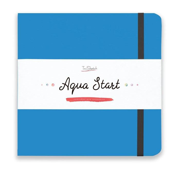 Aqua StArt 20x20, скетчбук для акварели,  25% хлопка/ Aqua StArt 20x20 sketchbook for watercolor, 25% cotton - фото 4834