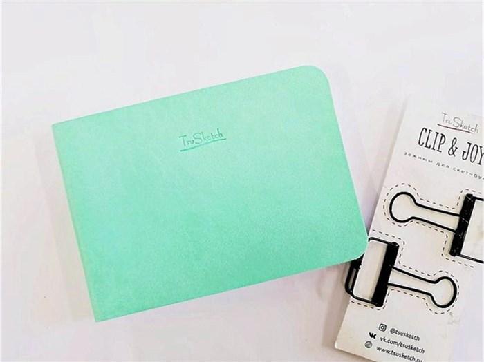 MarkerSoft 10x14,скетчбук для маркеров,мягкая обложка из экокожи/ Sketchbook 10x14 for markers, eco-leather. - фото 5126