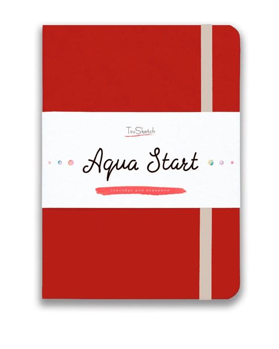 Aqua StArt A5, скетчбук для акварели,  25% хлопка / Aqua StArt A5 sketchbook for watercolor, 25% cotton - фото 5177