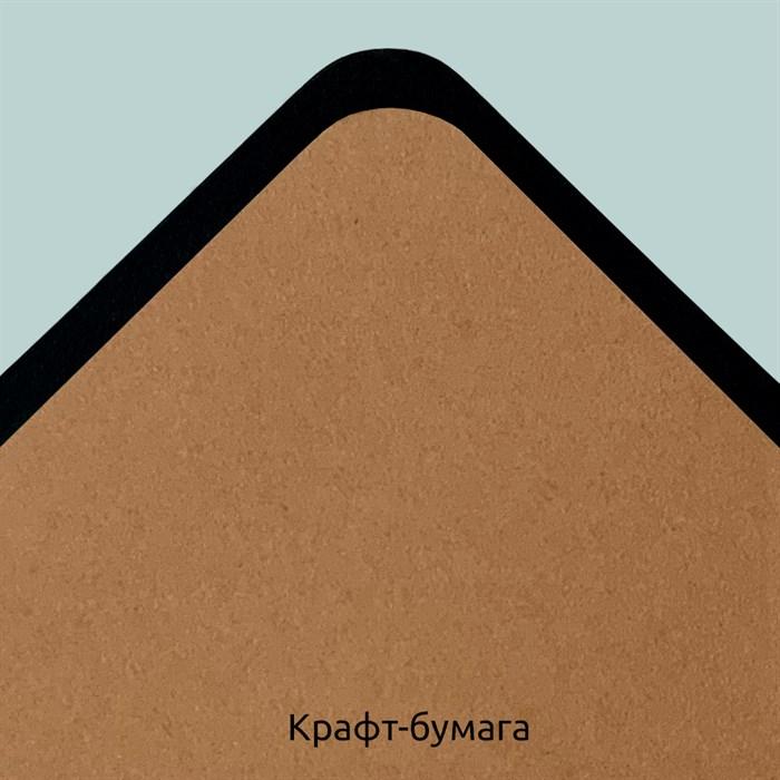 Блок для DiskBook из крафт-бумаги / Craft paper for DiskBook - фото 5254