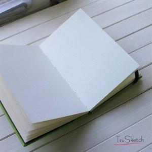 AquaTop A5, скетчбук для акварели, 100% хлопок/ AquaTop A5, sketchbook for watercolor,  100% cotton - фото 4684