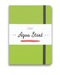 Aqua StArt A5, скетчбук для акварели,  25% хлопка / Aqua StArt A5 sketchbook for watercolor, 25% cotton - фото 4768