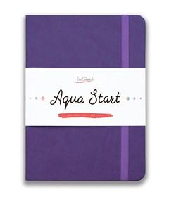 Aqua StArt A5, скетчбук для акварели,  25% хлопка / Aqua StArt A5 sketchbook for watercolor, 25% cotton - фото 4769