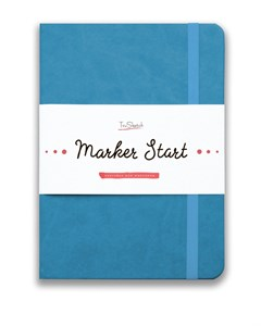 MarkerStArt А5, скетчбук для маркеров /MarkerStArt A5, sketchbook for markers - фото 4771