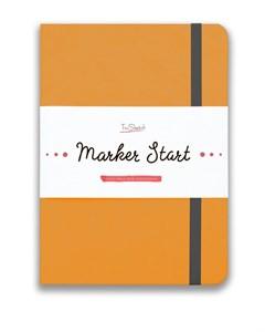 MarkerStArt А5, скетчбук для маркеров /MarkerStArt A5, sketchbook for markers - фото 4777