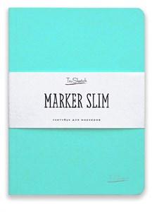 MarkerSlim A5,скетчбук для маркеров в мягкой обложке/ MarkerSlim A5 sketchbooks for markers in softcover. - фото 4783