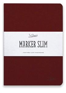 MarkerSlim A5,скетчбук для маркеров в мягкой обложке/ MarkerSlim A5 sketchbooks for markers in softcover. - фото 4784