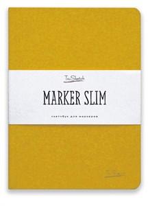 MarkerSlim A5,скетчбук для маркеров в мягкой обложке/ MarkerSlim A5 sketchbooks for markers in softcover. - фото 4786
