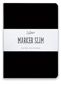 MarkerSlim A5,скетчбук для маркеров в мягкой обложке/ MarkerSlim A5 sketchbooks for markers in softcover. - фото 4794