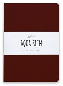 AquaSlim 17x24 , скетчбук для акварели, мягкая обложка, 25% хлопка/ AquaSlim 17x24, sketchbook  for watercolor, soft cover, 25% cotton - фото 4795