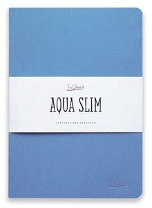 AquaSlim 17x24 , скетчбук для акварели, мягкая обложка, 25% хлопка/ AquaSlim 17x24, sketchbook  for watercolor, soft cover, 25% cotton - фото 4796