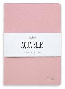AquaSlim 17x24 , скетчбук для акварели, мягкая обложка, 25% хлопка/ AquaSlim 17x24, sketchbook  for watercolor, soft cover, 25% cotton - фото 4800