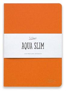 AquaSlim 17x24 , скетчбук для акварели, мягкая обложка, 25% хлопка/ AquaSlim 17x24, sketchbook  for watercolor, soft cover, 25% cotton - фото 4801