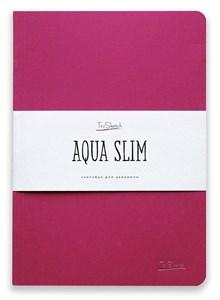 AquaSlim 17x24 , скетчбук для акварели, мягкая обложка, 25% хлопка/ AquaSlim 17x24, sketchbook  for watercolor, soft cover, 25% cotton