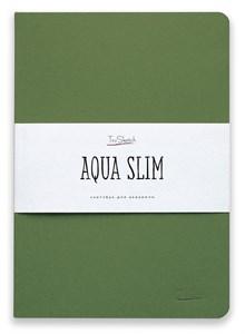 AquaSlim 17x24 , скетчбук для акварели, мягкая обложка, 25% хлопка/ AquaSlim 17x24, sketchbook  for watercolor, soft cover, 25% cotton - фото 4804