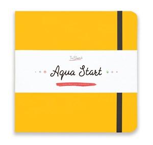 Aqua StArt 20x20, скетчбук для акварели,  25% хлопка/ Aqua StArt 20x20 sketchbook for watercolor, 25% cotton - фото 4835