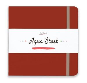 Aqua StArt 20x20, скетчбук для акварели,  25% хлопка/ Aqua StArt 20x20 sketchbook for watercolor, 25% cotton - фото 4838