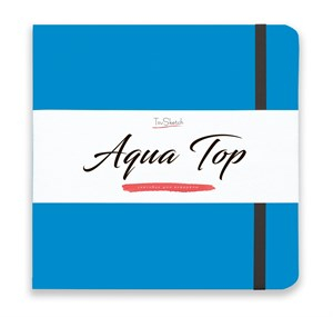 AquaTop 18x18, скетчбук для акварели, 100% хлопок/ AquaTop 18x18, sketchbook for watercolor,  100% cotton - фото 4851