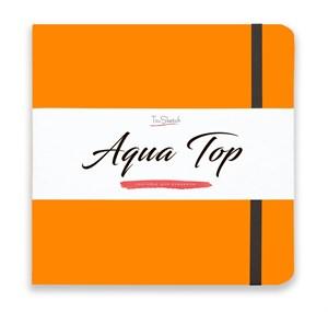 AquaTop 18x18, скетчбук для акварели, 100% хлопок/ AquaTop 18x18, sketchbook for watercolor,  100% cotton - фото 4855