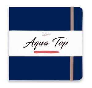 AquaTop 18x18, скетчбук для акварели, 100% хлопок/ AquaTop 18x18, sketchbook for watercolor,  100% cotton - фото 4860