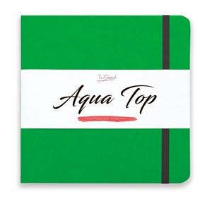 AquaTop 18x18, скетчбук для акварели, 100% хлопок/ AquaTop 18x18, sketchbook for watercolor,  100% cotton - фото 4861
