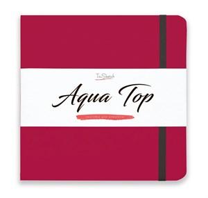 AquaTop 18x18, скетчбук для акварели, 100% хлопок/ AquaTop 18x18, sketchbook for watercolor,  100% cotton - фото 4863