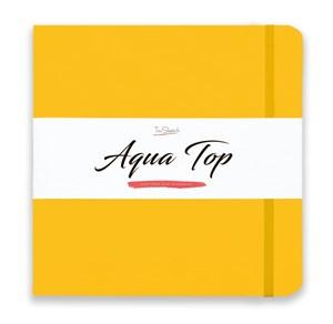 AquaTop 25x25, скетчбук для акварели, 100% хлопок/ AquaTop 25x25, sketchbook for watercolor,  100% cotton