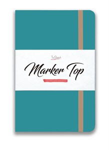 MarkerTop А5,  скетчбук для маркеров  (бумага не пропитывается маркерами насквозь)/ MarkerTop А5 sketchbook for markers (not soaked through with markers) - фото 4999