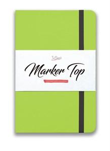MarkerTop А5,  скетчбук для маркеров  (бумага не пропитывается маркерами насквозь)/ MarkerTop А5 sketchbook for markers (not soaked through with markers) - фото 5008