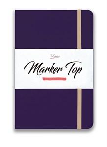 MarkerTop А5,  скетчбук для маркеров  (бумага не пропитывается маркерами насквозь)/ MarkerTop А5 sketchbook for markers (not soaked through with markers) - фото 5011