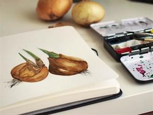 Aqua StArt 20x20, скетчбук для акварели,  25% хлопка/ Aqua StArt 20x20 sketchbook for watercolor, 25% cotton - фото 5047