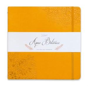 AquaBotanica 25х25, скетчбук для акварели, 100% хлопок, фактура САТИН / AquaBotanica 25x25, sketchbook for watercolor, 100% cotton, grain SATIN