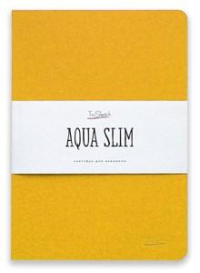 AquaSlim 17x24 , скетчбук для акварели, мягкая обложка, 25% хлопка/ AquaSlim 17x24, sketchbook  for watercolor, soft cover, 25% cotton - фото 5087