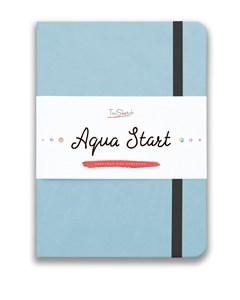 Aqua StArt A5, скетчбук для акварели,  25% хлопка / Aqua StArt A5 sketchbook for watercolor, 25% cotton - фото 5116
