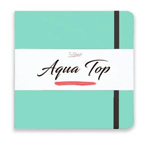 AquaTop 18x18, скетчбук для акварели, 100% хлопок/ AquaTop 18x18, sketchbook for watercolor,  100% cotton - фото 5118