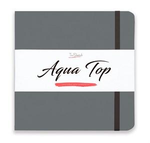 AquaTop 18x18, скетчбук для акварели, 100% хлопок/ AquaTop 18x18, sketchbook for watercolor,  100% cotton - фото 5121