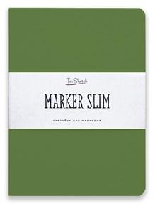 MarkerSlim A5,скетчбук для маркеров в мягкой обложке/ MarkerSlim A5 sketchbooks for markers in softcover. - фото 5153