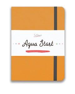 Aqua StArt A5, скетчбук для акварели,  25% хлопка / Aqua StArt A5 sketchbook for watercolor, 25% cotton - фото 5168