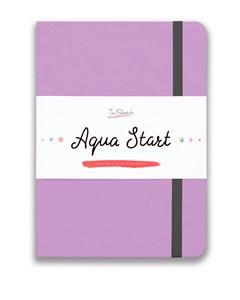 Aqua StArt A5, скетчбук для акварели,  25% хлопка / Aqua StArt A5 sketchbook for watercolor, 25% cotton - фото 5180