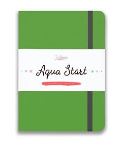 Aqua StArt A5, скетчбук для акварели,  25% хлопка / Aqua StArt A5 sketchbook for watercolor, 25% cotton - фото 5181