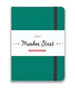 MarkerStArt А5, скетчбук для маркеров /MarkerStArt A5, sketchbook for markers - фото 5229