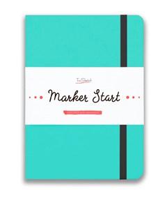 MarkerStArt А5, скетчбук для маркеров /MarkerStArt A5, sketchbook for markers - фото 5230