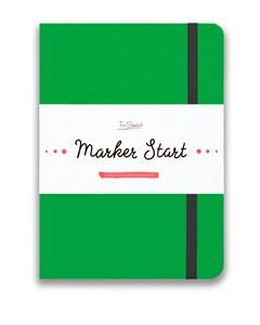 MarkerStArt А5, скетчбук для маркеров /MarkerStArt A5, sketchbook for markers - фото 5233