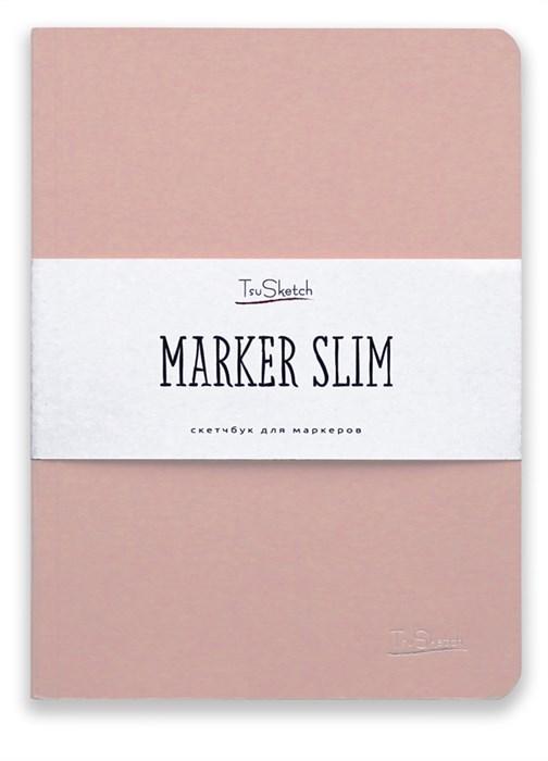 MarkerSlim A5,скетчбук для маркеров в мягкой обложке/ MarkerSlim A5 sketchbooks for markers in softcover. - фото 4790