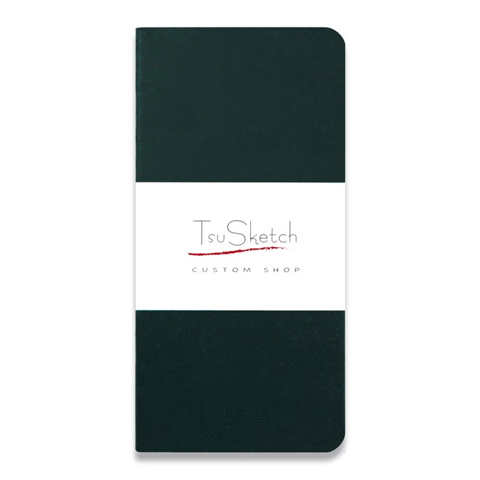 AquaSoft 10x20 , скетчбук для акварели, 25% хлопка , мягкая обложка из экокожи /AquaSoft 10x20, sketchbook for watercolor, 25% cotton, eco-leather - фото 5305