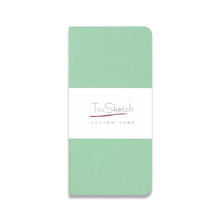 AquaSoft 10x17 , скетчбук для акварели, 25% хлопка , мягкая обложка из экокожи /AquaSoft 10x20, sketchbook for watercolor, 25% cotton, eco-leather - фото 5314